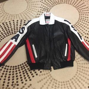 1c341f84a Michael Hoban Jackets   Coats - Michael Hoban Leather USA Jacket